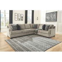 Bovarian - Stone - 3-Piece Sectional