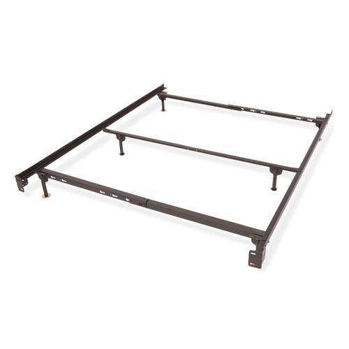 Metal Bed Frame Queen Size w/ Spin Glides