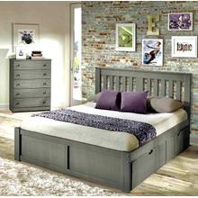 York Platform Bed - Twin