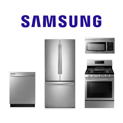 Product Image - Samsung 4 Piece Kitchen Package. Price Valid Thru 6/30/21