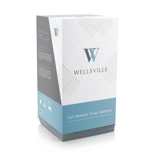 "WELLSVILLE 11"" GEL FOAM MATTRESS"