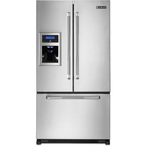 Jenn-Air Cabinet Depth French Door Refrigerator with External Dispenser - Stainless Steel