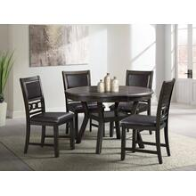 Amherst Dark Dining Set - Table and 4 Chairs