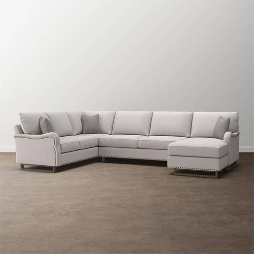 Premier Collection - Custom Upholstery Deep U-Shaped Sectional