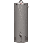 Professional Classic Atmospheric 50 Gallon Natural Gas Water Heater with 6 Year Limited Warranty