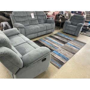 Gallery - Reclining Sofa, Loveseat, and Recliner