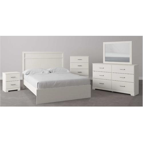 B2588 7PC SET: Queen Panel Bed, Dresser, Mirror, Chest, & Nightstand (Stelsie)