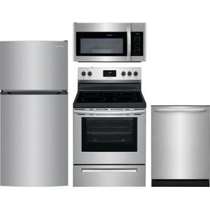 Frigidaire 4 pc Appliance Package Stainless
