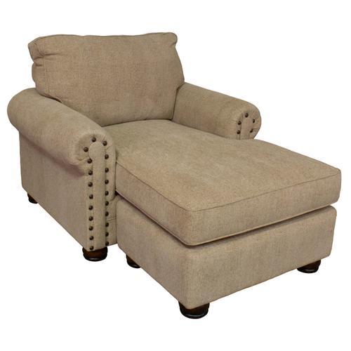 8019 Chair 1/2 Lounger