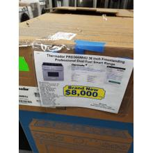"""View Product - Thermador 36"""" Freestanding Professional Dual Fuel Smart Range PRD366WHU (NEW IN BOX)"""