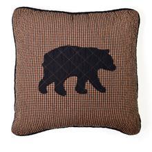 Bear Star Throw Pillow
