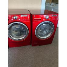 Refurbished Red Electric LG Washer Dryer Set. Please call store if you would like additional pictures. This set carries our 6 month warranty, MANUFACTURER WARRANTY AND REBATES ARE NOT VALID (Sold only as a set)