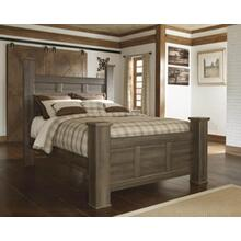 Juararo - Dark Brown Collection: 3 Piece Queen Bed