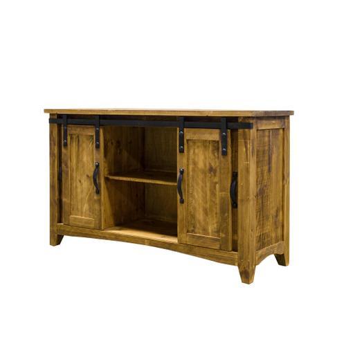 Rustic Imports - RUSTIC IMPORTS MO-COM153 Rustic Antique Barn Door TV Stand