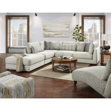 Drusky Silver Sectional