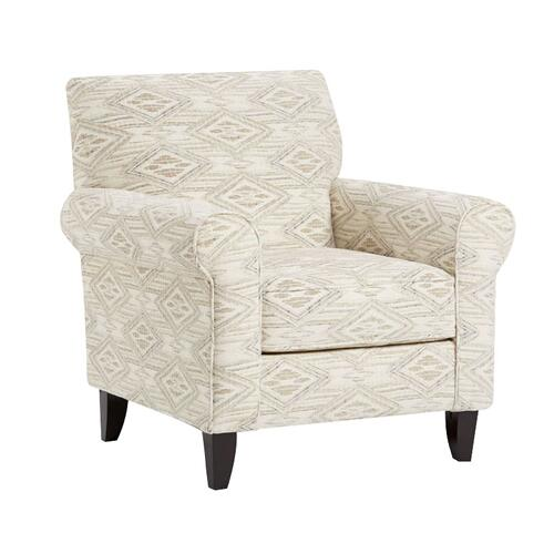 Fusion Furniture - Western Front Blanco Accent Chair