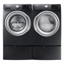 View Product - Samsung 4.5 cf Front Load Washer and 7.5 cf Electric Front Load Dryer with Pedestals