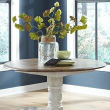 Drop Leaf Table - White