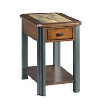 See Details - Slaton Chair-side End Table H675916 - Warm Mocha