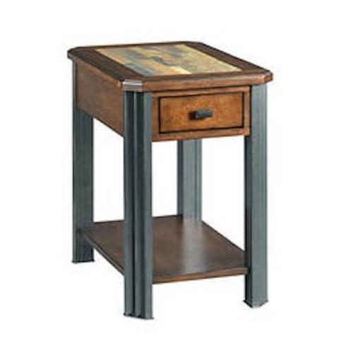 England Furniture - Slaton Chair-side End Table H675916 - Warm Mocha