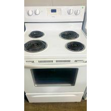 See Details - USED- 30-inch Self-Cleaning Freestanding Electric Range- E30WHCOIL-U  SERIAL #61