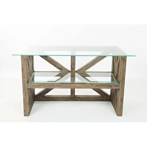 Jofran - Hampton Road Rectangle Cocktail Glass Table Top