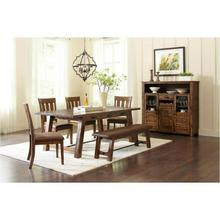 Cannon Valley 7pc Trestle Dining Set