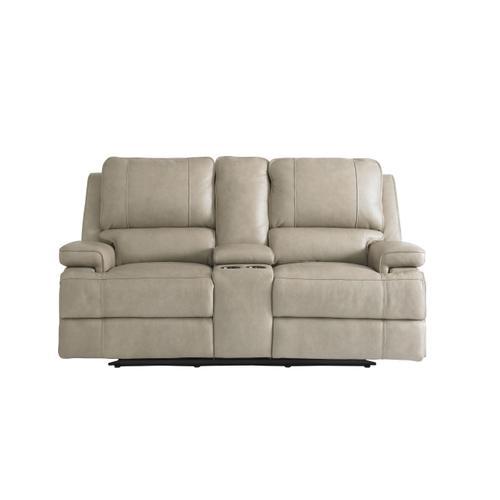 Bassett Furniture - Parsons Power Reclining Loveseat w/ Power Headrest