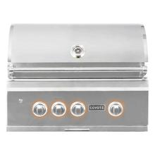 Coyote C2SL30LP S-Series Built-In Propane Grill with Two Burners, 30-Inches