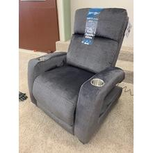 Southern Motion SoCozi Zero Gravity Recliner with Power Headrest . Power Heat and Message . 35W x 42D x 42H in Legacy Graphite (157-14)