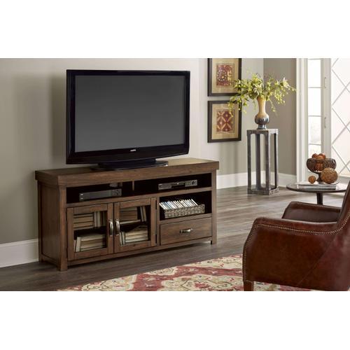 Progressive Furniture - PROGRESSIVE E724-64 Navaro Transitional Sienna Pine Solids Veneers 64 Inch Console