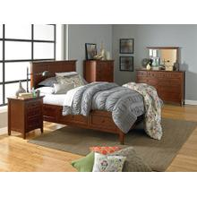 Mckenzie Bedroom Set - Glaze Antique Cherry