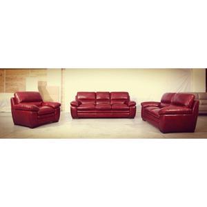 CU2117  Sofa, Loveseat and Armchair     ***TOP GRAIN COWHIDE LEATHER***