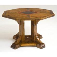 Mustang Canyon Architectural Pedestal Table Octagon