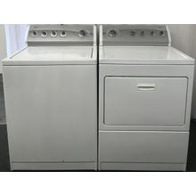 Kenmore 800 Series Top Load Washer & Gas Dryer Set