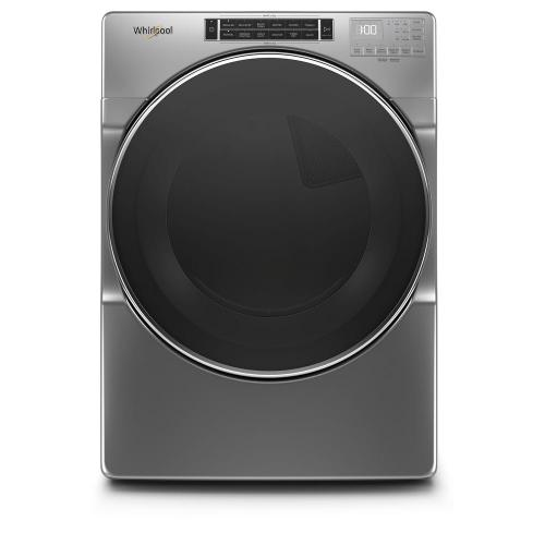 Whirlpool 7.2CF Chrome Shadow Front Load Electric Dryer
