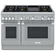 "Thermador 48"" Professional Series Pro Harmony Stainless Steel Gas Range"