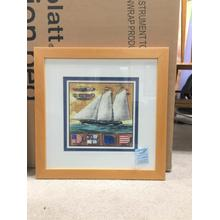 Framed Wall Art - Yachting I