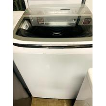 USED- 5.0 cu. ft. Top Load Washer with activewash and Integrated Touch Controls- HETLWASHCBRO-U SERIAL #4