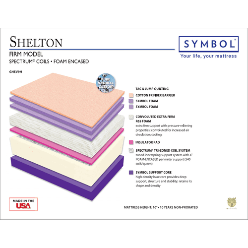 Symbol Shelton Firm Double Sided