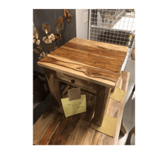 Montana Natural Sheesham End Table w/drawer