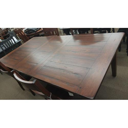Frontier Farmhouse Table with Amhurst Side Chairs