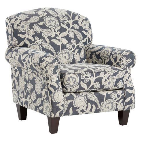 Fusion Furniture - Sophie Indigo Accent Chair