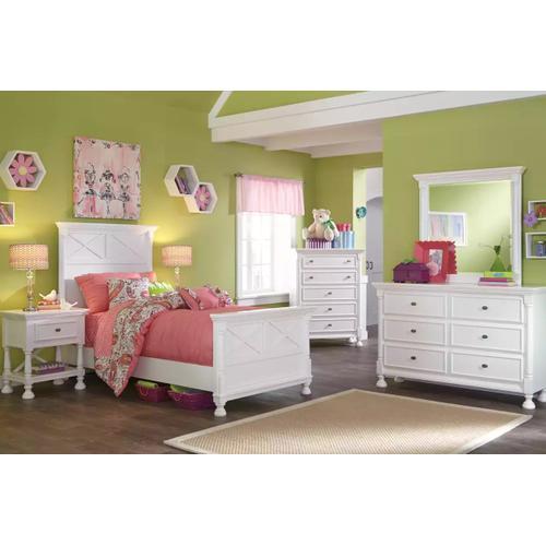 Ashley Furniture - ASHLEY B502-53-52-83 Kaslyn Twin Bed