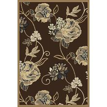 Reflection Chocolate 9x12 Rug