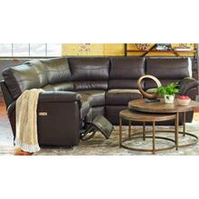 James 4pc Reclining Sectional