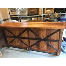 Custom Barnwood Bar