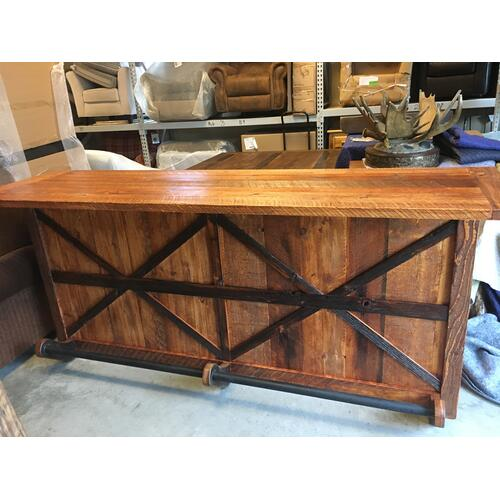 Cozy Creations Collection - Custom Barnwood Bar