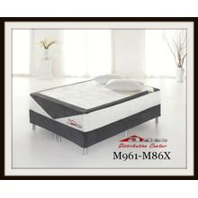 Ashley Sleep Latex Mattress M961 Bonaire at Aztec Distribution Center Houston Texas