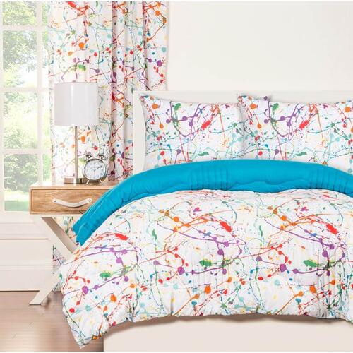 """Splat"" Crayola Comforter Sets Twin"